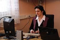 Mistryně svět v psaní na klávesnici Helena Matoušková.