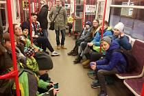Jízda metrem byla pro mnohé dalším pražským zážitkem.