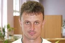 Trenér Stanislav Purkart.
