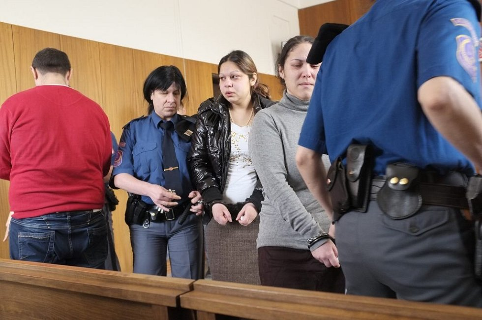 Vynesení rozsudku nad znojemskými Romy v Domažlicích.