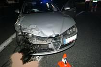 Nehoda na Folmavě.