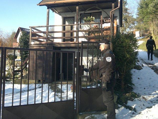 Domažličtí strážníci kontrolují chaty a zahrádkářské kolonie.