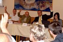 Domažličtí zastupitelé na svém zasedání ve středu 18. srpna.