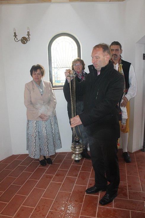 Ze svěcení ždánovské kaple.