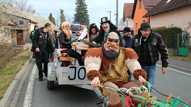 Masopusty v Klenčí pod Čerchovem.