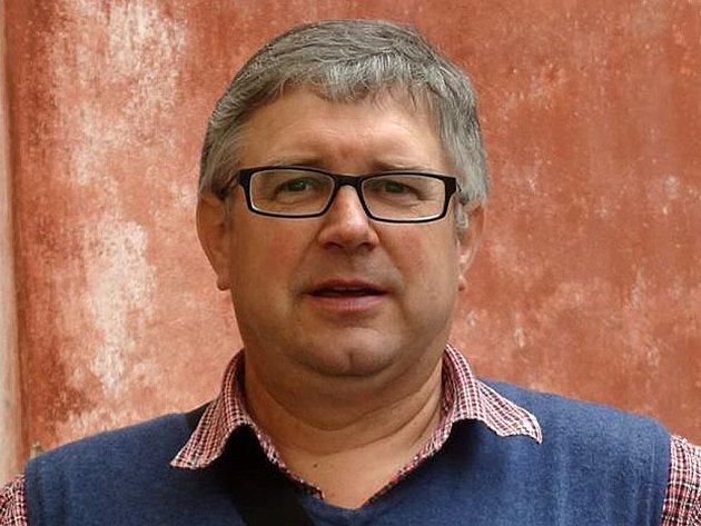 Předseda FK Holýšov Libor Schröpfer.