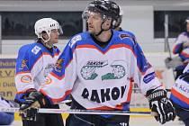 Jedna z opor HC Kdyně, hokejista David Sekerák.