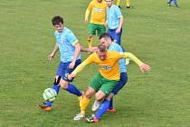 Fotbalisté TJ Start Tlumačov přivezli z Tachovska dva body. Domácí Baník Stříbro porazili po remíze 1:1 na penalty.