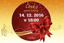 Koledy se budou zpívat ve středu 14. prosince od 18 hodin.