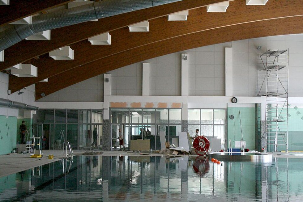 Kdyňský Aquapark je před dokončením.
