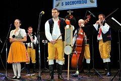 Kulturní dům v Holýšově poprvé v letošním roce ožil dechovou hudbou. Foto: Miroslav Dolejš