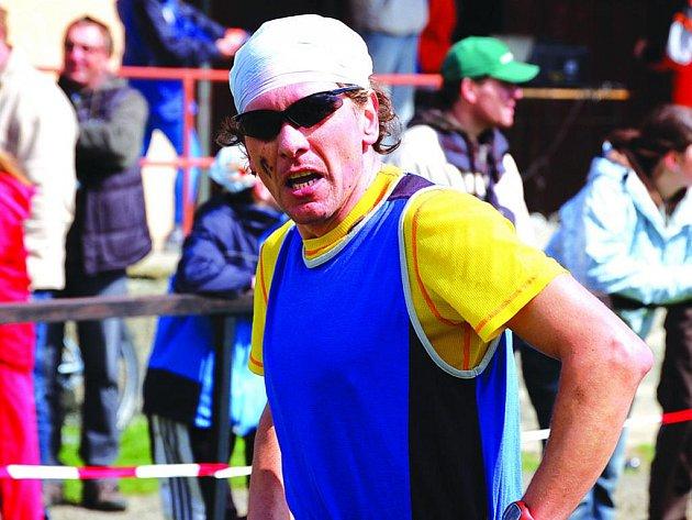 Domažlický triatlet Norbert Švarc.