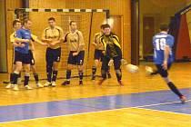 Z utkání futsalistů Rejnoci Nemanice a 2. FC Motáček Plzeň.