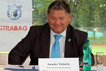 Jaroslav Ticháček, prezident fotbalové Jiskry Domažlice.
