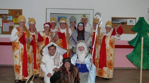 Štichovští hrají Mrazíka.