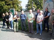 Z 26. ročníku pochodu z Klenčí pod Čerchovem do Furth im Waldu po stopách Baarových postav.