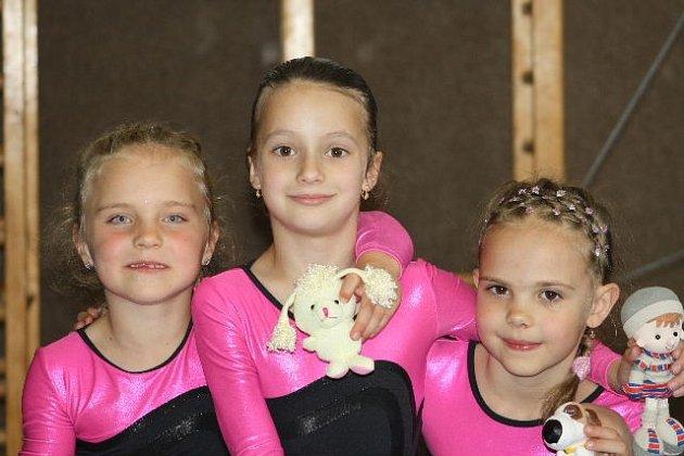 Na snímku zleva Kocková, Dufková a Kinzlerová.