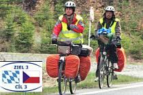 Po dokončení cyklostezek, na které významně přispěje EU z projektu Cíl 3, bychom takto cyklisty na silnici I/26 nemuseli potkávat. Bude to i pro ně bezpečnější.