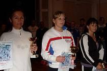 VÍTĚZKA VELKÉ CENY KLATOV Jana Szmigielová převzala ocenění za nejlepší výkon mezi ženami.