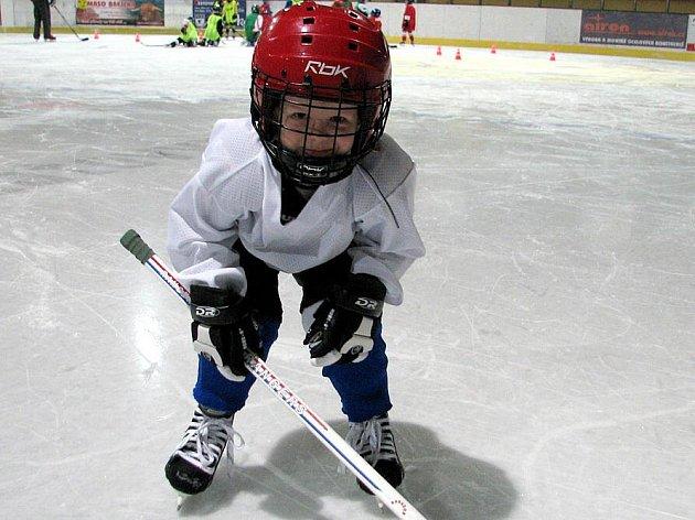Vojtík Svoboda z Pocinovic je nadšeným hokejistou. Ačkoliv jsou mu teprve 4 roky, má o své budoucnosti jasno.