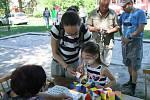 Dětský den v Koutě na Šumavě.