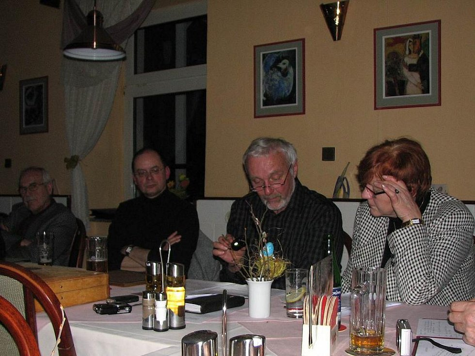 Z výroční schůze Kruhu přátel Furth im Wald - Domažlice.