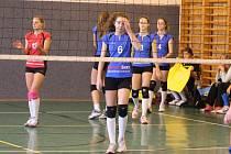 Volejbalistky Domažlic (na archivním snímku) prohrály o víkendu s plzeňským céčkem oba zápasy. Zítra nastoupí k dalšímu dvojutkání na palubovce vedoucího Unionu Plzeň.
