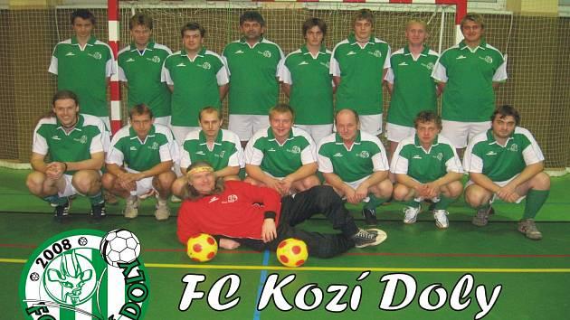 FC KOZÍ DOLY HŘÍCHOVICE na archivním snímku ze sezony 2008/2009.