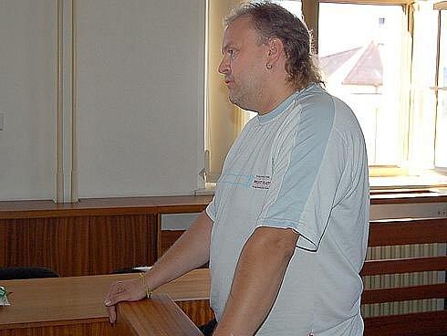 Radek Heller u soudu.