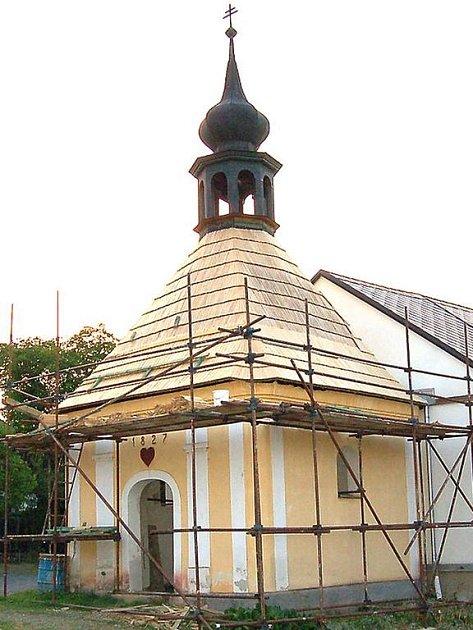 Kaple Nejsvětější trojice zcela mění svůj vzhled.