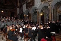 Pěvecký sbor Čerchovan vystoupil ve středu 15. prosince v Římě.