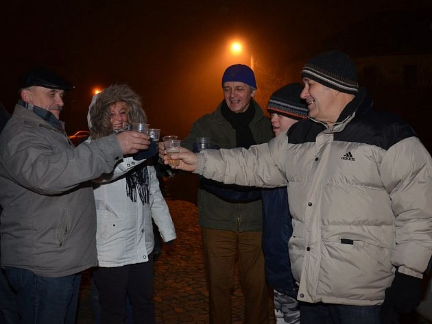 Vítání nového roku v Bělé nad Radbuzou