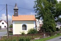 Opravená kaple v Zahořanech