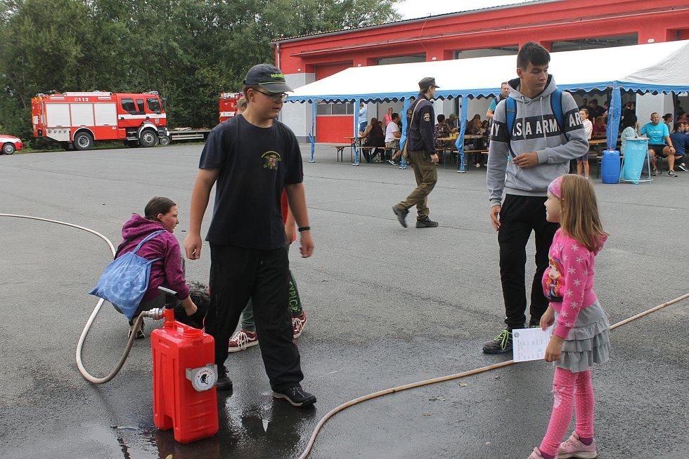 Dětský den s hasiči v Horšovském Týně a Postřekově.