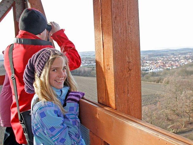 Silvestrovský výstup na Šibeniční vrch.