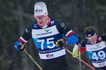 Luděk Šeller při závodě Světového poháru v Novém Městě na Moravě.