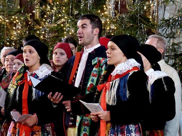 XX. chodský vánoční koncert v Domažlicích.