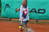 Z utkání Davis Cupu.