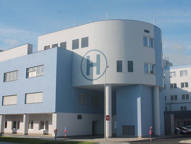 Klatovská nemocnice.