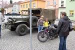 Historická vozidla v Bělé nad Radbuzou.