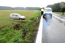 Dopravní nehoda u Březí.