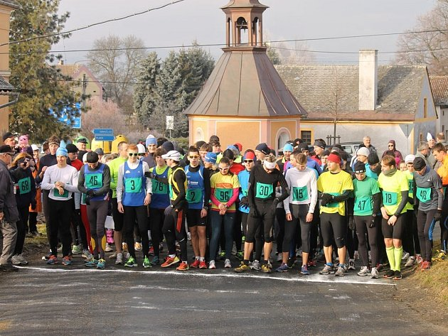 Fotoreportáž z 37. ročníku Novoročního běhu v Draženově.