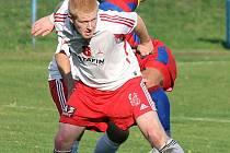 Patrik Gabriel (na snímku v dresu FK Holýšov).