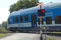 Na hlavní trati Domažlice-Plzeň budou v 94% spojů jezdit nové soupravy RegioShark..