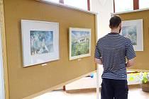 Výstav obrazů Evy Wypiorové