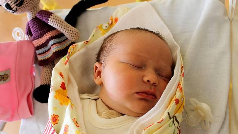 Leontýna Malá z Tachova (4350 g, 53 cm) senarodila v domažlické porodnici 15. března ve 13:00.