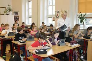 V domažlické Základní škole Komenského 17 nebyla výuka stávkou omezena.