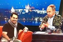 Amar Ibrahim v Show Jana Krause na TV Prima.
