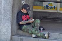 V Domažlicích žije podle údajů městské policie a sociálního odboru 14 bezdomovců.