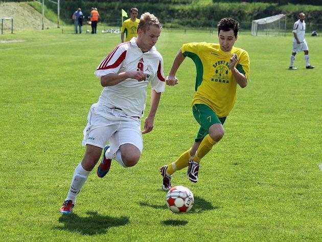 Z utkání mezi fotbalisty FK Holýšov B a FC Dynamo H. Týn B.